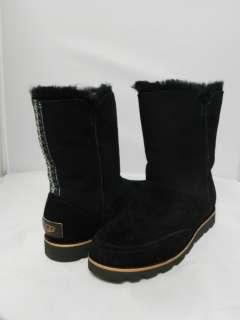 NEW WOMEN UGG BOOT SHANLEIGH 3216 BLACK 100% AUTHENTIC IN ORIGINAL BOX