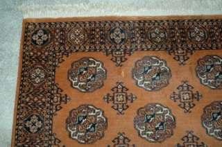 Vintage Karastan Golden Bokhara Rug 5 9 x 9 100% Wool Pattern 716