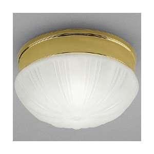 Ceiling Lighting Flush Mount Prescott Polished Brass