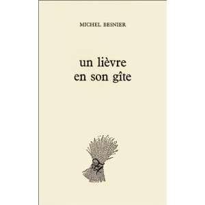 Un lièvre en son gîte (9782868100023): Michel Besnier