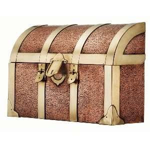Good Directions 255 Medium Wall Mount Steamer Trunk Solid Copper