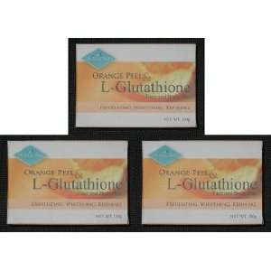Diamond Orange Peel Glutathione WHITENING Soap Claire Blanche Beauty