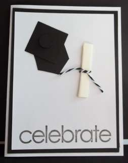 Stampin Up handmade greeting card graduation PY LOT