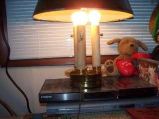 Antique table lamp bouillotte art deco nouveau