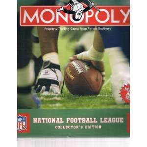 Monopoly NFL National Football League Collectors Edition
