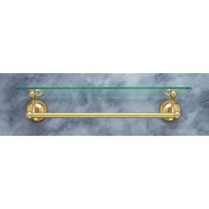 JVJ Hardware 21211 Plain Solid Brass Towel Bar Accessory