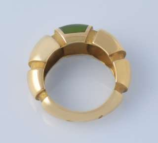 Mauboussin Nadja Green Peridot Solid 18k Gold Ring