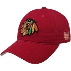 Chicago Blackhawks Red Netminder Adjustable Hat