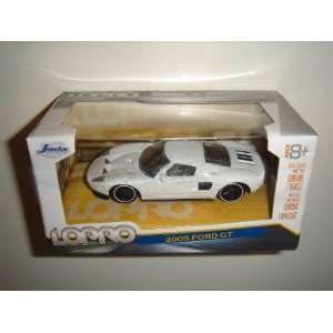 2011 Jada LOPRO 164 2005 Ford GT White Toys & Games