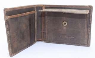 Vintage Mens Genuine Leather Cowhide Wallet/Purse USD$