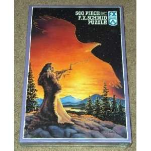 Dawnbringer Native American themed 500 Piece Jigsaw