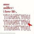 Mac Miller I Love Life Thank You OFFICIAL Mixtape Album CD