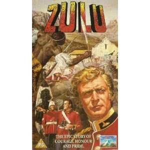 Zulu [VHS] Stanley Baker, Jack Hawkins, Ulla Jacobsson