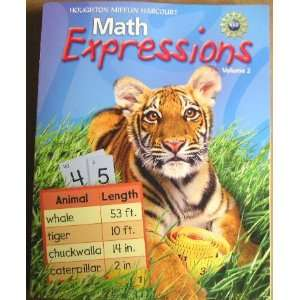 , Grade 2 Student Activity Book Consumable: Houghton Mifflin Harcourt