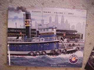 Lionel Model Railroad Toy Train Catalog 2003 Color %