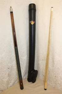 Joss Brunswick Billiards Pool Cue with Case