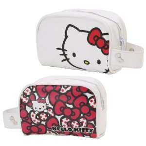 Hello Kitty White   Cosmetic Pouch