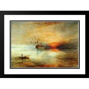 Turner, Joseph Mallord William 38x28 Framed and Double