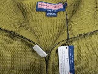 NWOT Mens Vineyard Vine 1/4 zip Cotton Sweater Size L
