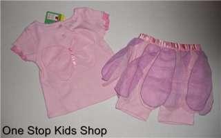 ABBY CADABBY Girls 2T 3T 4T Set OUTFIT Shirt Shorts Skirt SESAME
