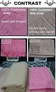 Wholesale high quality cashmere wool wrap shawl scarf