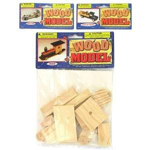 Wood Transportation Model Kits