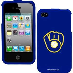 MLB Milwaukee Brewers Hard iPhone 4 Snap Case   Royal Blue