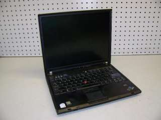 IBM THINKPAD LENOVO T60 LAPTOP CORE DUO 1.8GHz/ 2GB/ WIRELESS