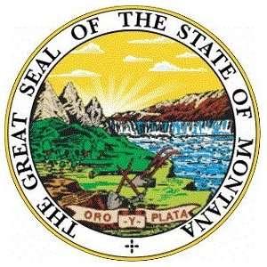 Montana State Seal hat / cap