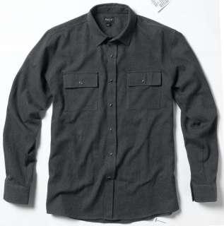 MATIX Stotle Black MJ L/S Flannel Skateboard Shirt
