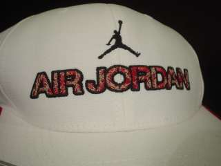 Nike Air Jordan IV 4 Retro WHITE BLACK VARSITY FIRE RED LASER HAT