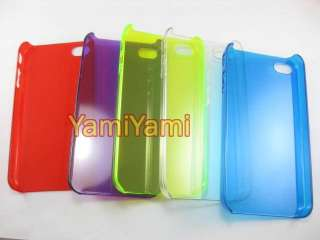Crystal Skin Cover Protector Case Guard for Apple iPhone 4 4G