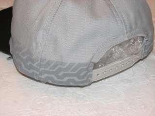 HARLEY DAVIDSON VINTAGE MAKIN TRACKS GRAY & BLACK COTTON HAT CAP