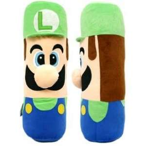 Super Mario (LUIGI) Plush Long Pillow Cushion 20
