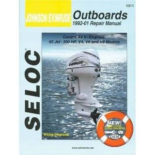 Includes Jet Drives and Sea Drives (Clymer Marine Repair) [Paperback
