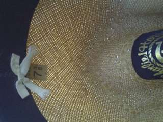 VERY RARE Vintage Charlie One Horse Rattlesnake 1 Cowboy Hat 7 3/8