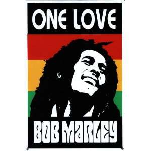 Bob Marley One Love Reggae Decal Sticker Sheet X30
