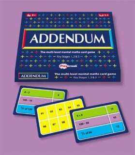 Addendum  Adding & Subtracting Games  Maths Toys  Educational Toys
