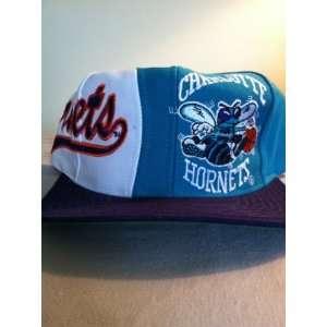 Charlotte Hornets Vintage Side Logo Snapback Hat