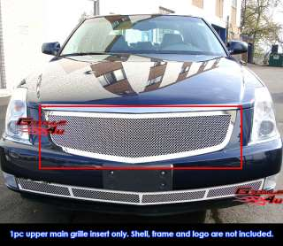 06 10 Cadillac DTS Stainless Mesh Grille Insert