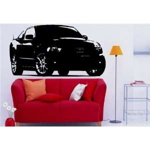 Wall MURAL Vinyl Sticker Car FORD MUSTANG S. 1208