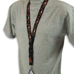 ORIOLES OFFICIAL AUTOGRAPH LANYARD KEYCHAIN
