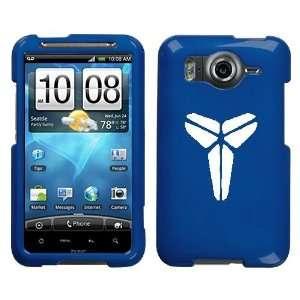 HTC INSPIRE 4G WHITE MAMBA KOBE LOGO ON A BLUE HARD CASE