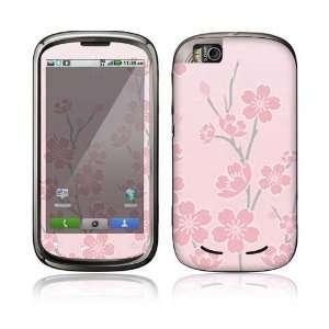 Cherry Blossom Decorative Skin Decal Sticker for Motorola