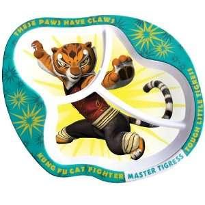 BSS   Kung Fu Panda Tigress Kids Plate