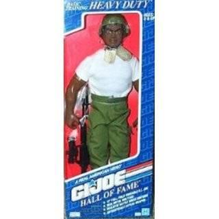 12 GI Joe Army General African American Action Figure WWII