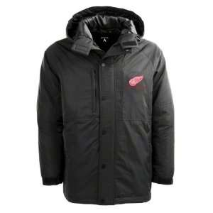 Detroit Red Wings Black Trek Full Zip Hooded Jacket