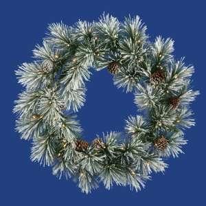 48 Scotch Pine Christmas Wreath 100 Dura Lit Clear Lights