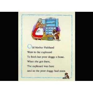 Old Mother Hubbard Poster Print Home & Kitchen
