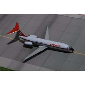 Jet X Ansett Australia DC 9 Model Airplane Everything